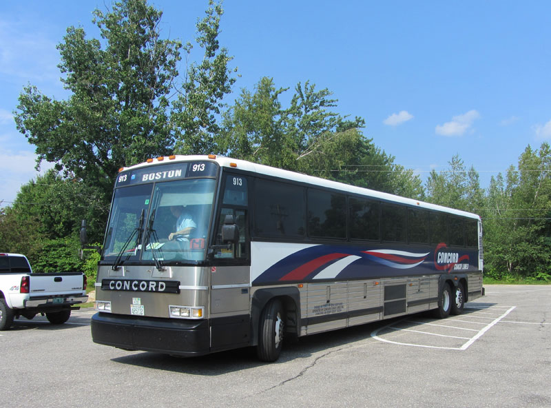 Travel By Bus WEIRS BEACH WHERE LAKE WINNIPESAUKEE BEGINS